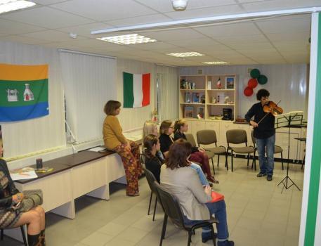 Встречи с носителем итальянского языка