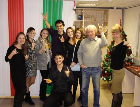 Встречи с носителем итальянского языка Екатеринбург